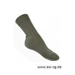 Socke, BW, kurz, oliv, neu